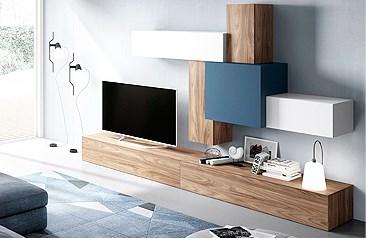 Comprar muebles en madrid salones modernos for Salones modernos madrid
